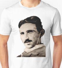 Nikola TESLA - sepia Unisex T-Shirt