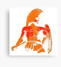 Spartan Warrior Canvas Print