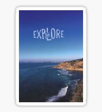 Go Explore  Sticker