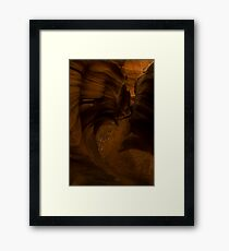 Slot Canyon Framed Print