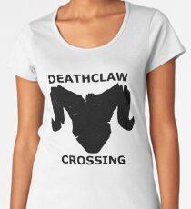 Deathclaw Crossing Women's Premium T-Shirt