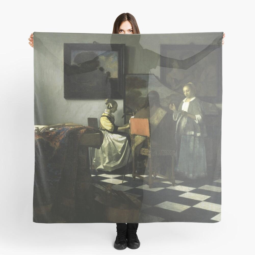 Stolen Art - The Concert by Johannes Vermeer Scarf