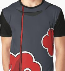 Akatsuki Black Cloak Graphic T-Shirt