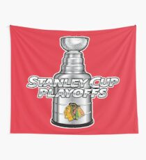 Chicago Blackhawks NHL Playoffs Wall Tapestry