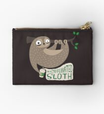 Caffeinated Sloth Studio Pouch