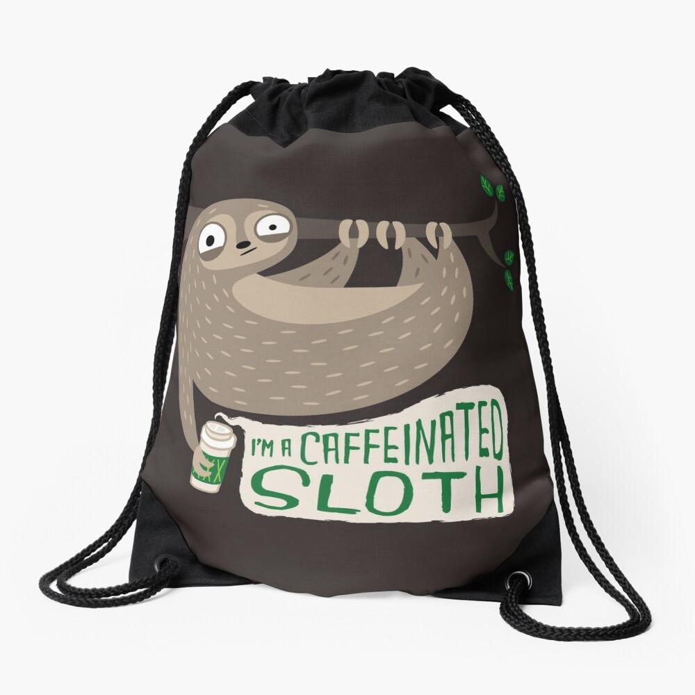 La pereza cafeinada Mochila saco