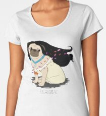Pugahontas Women's Premium T-Shirt
