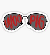 Woo Pig Sunglasses Sticker