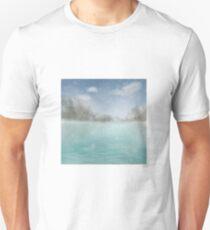 Ocean Mountains Scene Unisex T-Shirt