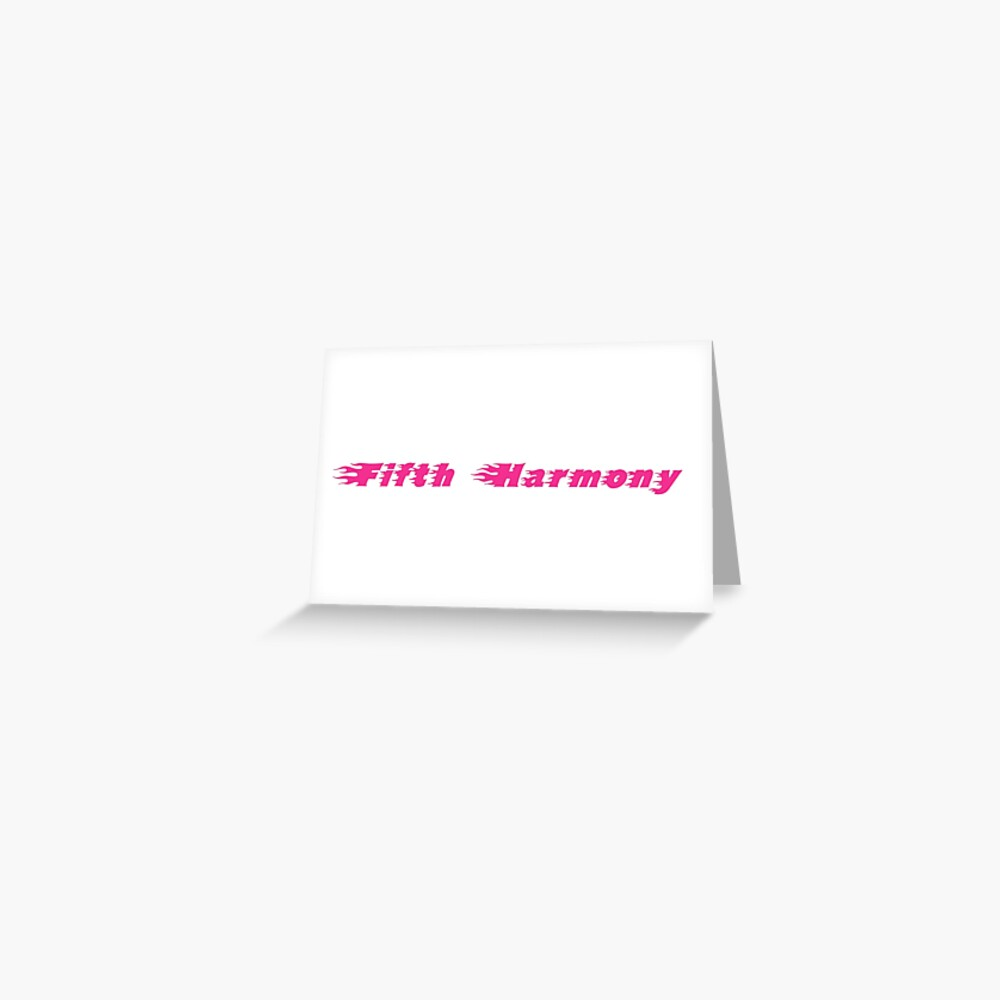 Galore Magazine Fifth Harmony (fuente) Tarjetas de felicitación