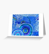 Evolution intérieure - Inner evolution Greeting Card