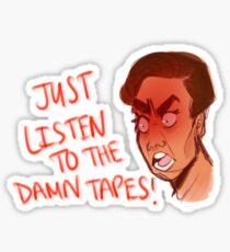 Tony- Thirteen Reasons Why Sticker