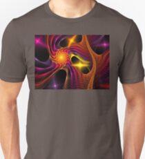 Violet Pink Spiral Unisex T-Shirt