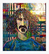 Zappa en regalia Photographic Print