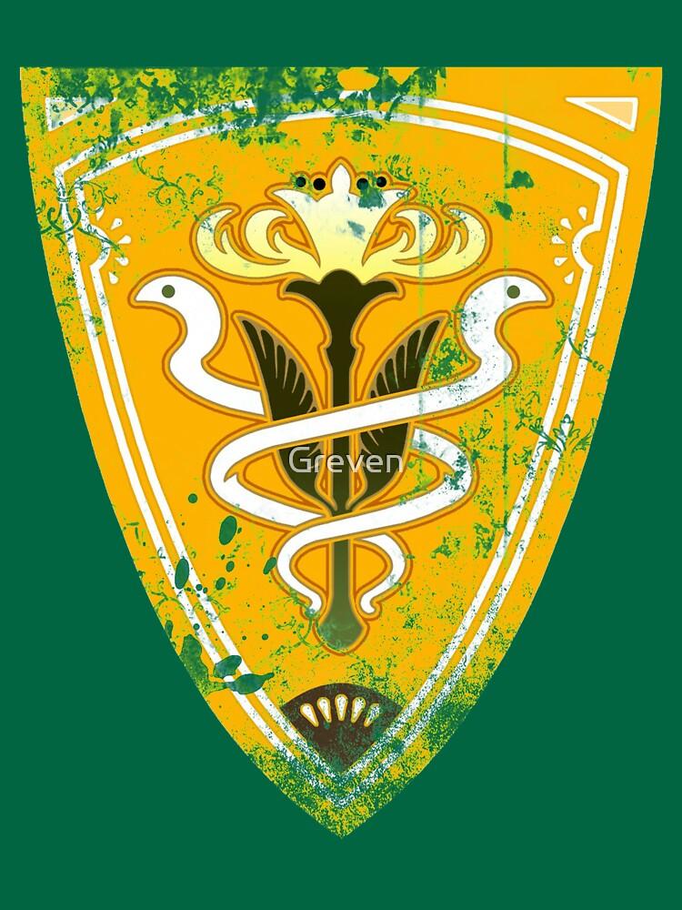 Gridania flag grunge | Unisex T-Shirt