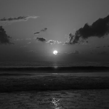 Black and White Sunrise by jennabee25