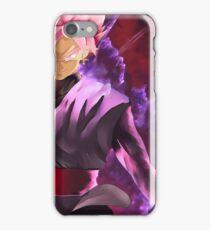 black rose iPhone Case/Skin