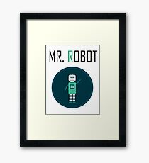 Mr Robot Framed Print