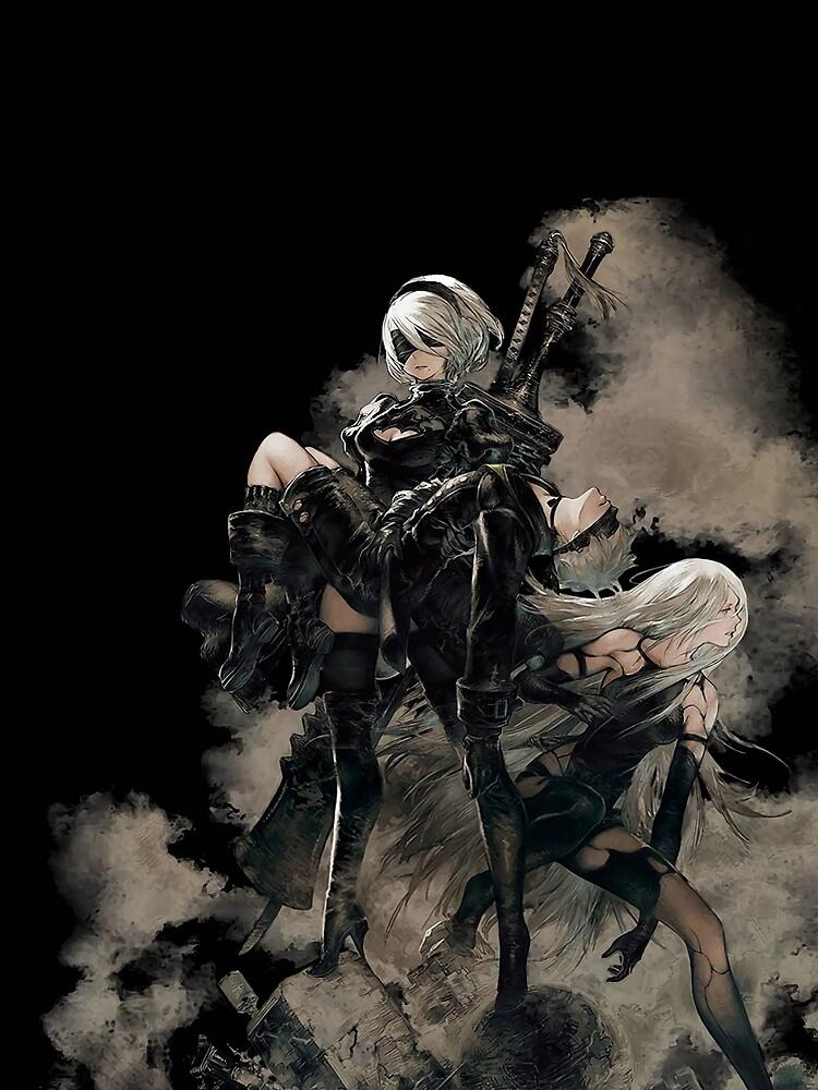 Nier: Automata Black by CaptainBicBoi