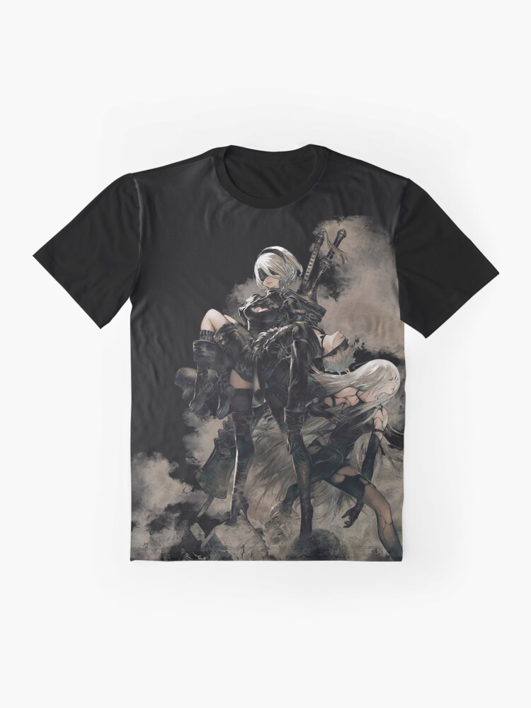 Alternate view of Nier: Automata Black Graphic T-Shirt