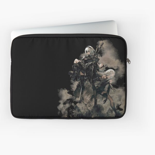 Nier: Automata Black Laptop Sleeve