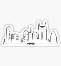 Nashville Skyline (with Nashville) Sticker