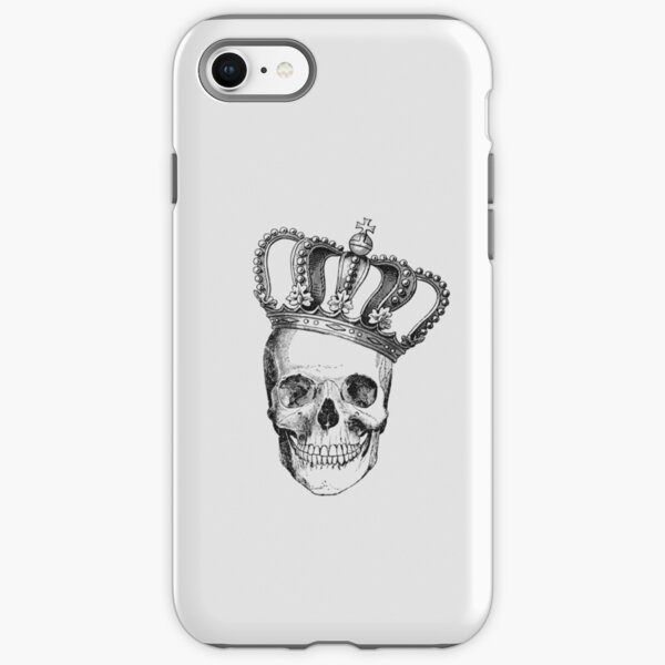 Grinding Skull With Crown iPhone Tough Case