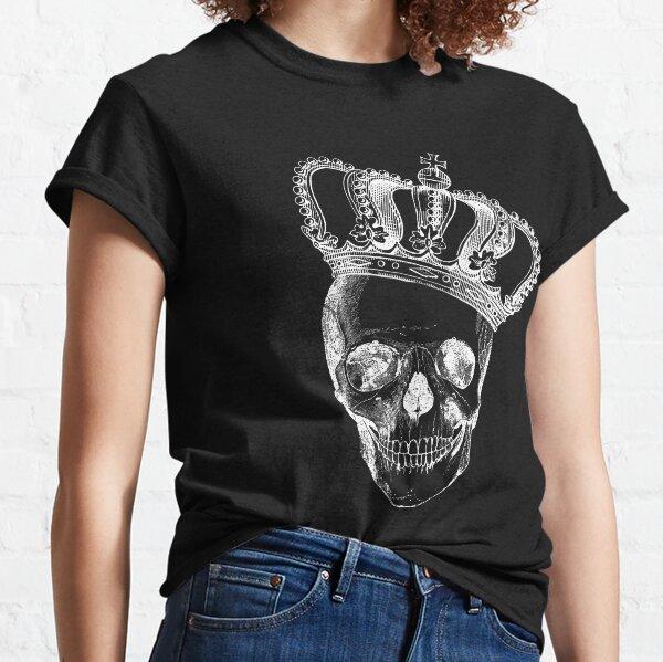 Thorn Rose Skull Horror Women T-shirt S-3XL New