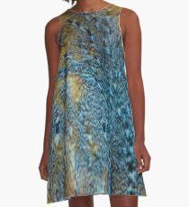 Fabulous Feathers A-Line Dress