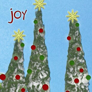 Joy, Christmas Card by RLMdesignes