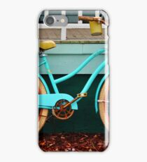 Beach Cruiser Bike iPhone Case/Skin