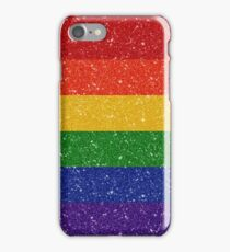 Glitter Rainbow Pride Flag iPhone Case/Skin