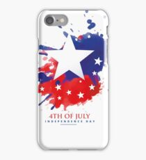 American 4th of July iPhone Case/Skin
