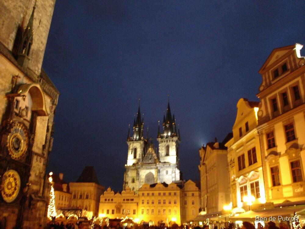 Old Market Square Prague by Ben de Putron