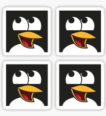Awesome Linux Penguin Sticker
