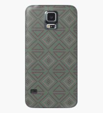 Copen Cross Stitch  Case/Skin for Samsung Galaxy