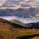 Rocky Mountain Cloud Settle by Nancy Richard