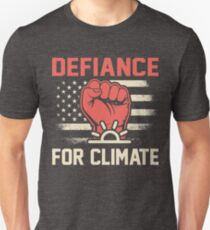 Defiance for Climate March 2017 Shirts Unisex T-Shirt