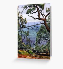 Couta boats Sorrento Greeting Card