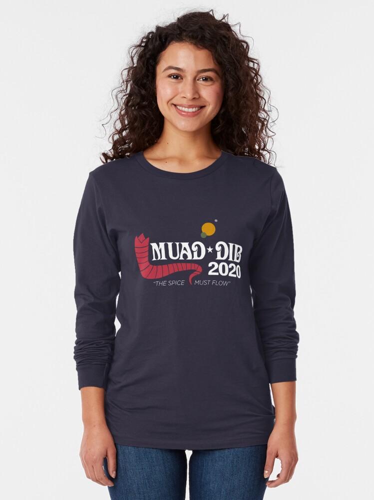 Alternate view of Dune Muad'Dib 2020 Long Sleeve T-Shirt