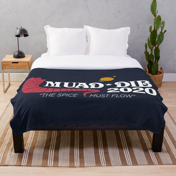 Dune Muad'Dib 2020 Throw Blanket