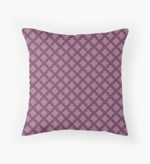 French Crosses Throw Pillow