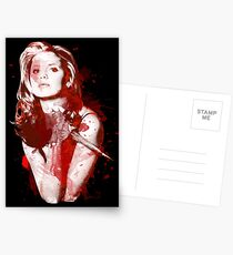 Splatter Buffy Postcards