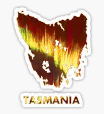Tasmania - Southern Lights Sticker