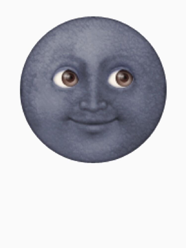 Moon Emoji | Unisex T-Shirt