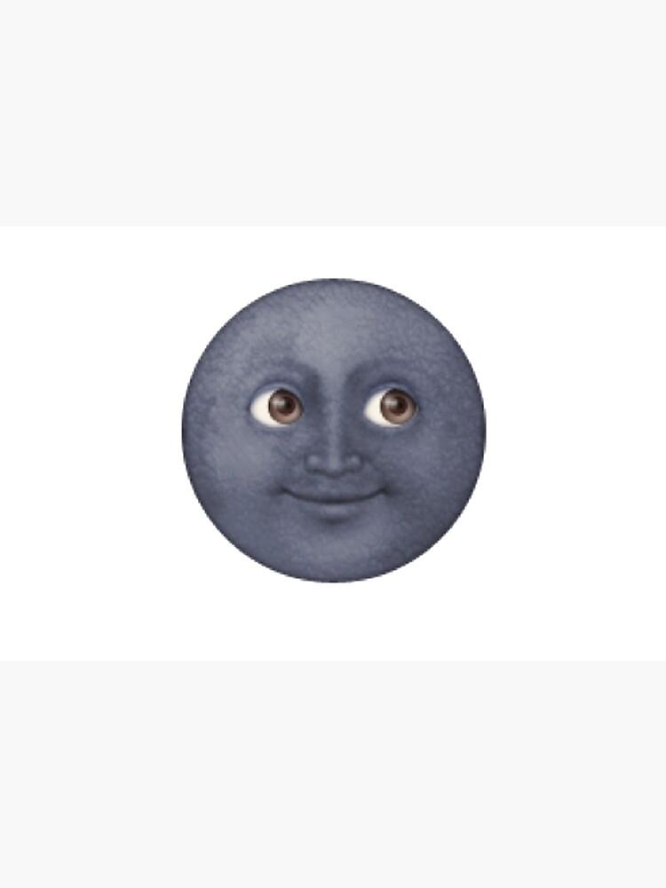 Mond Emoji von shirtsforhoes
