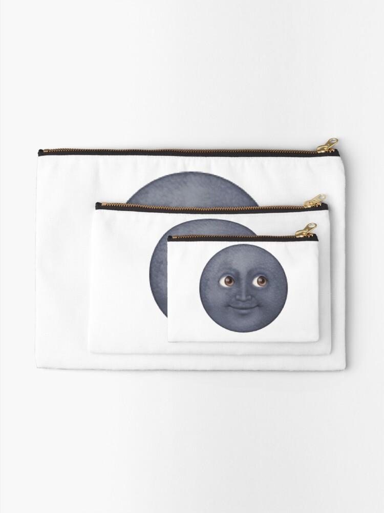 Alternative Ansicht von Mond Emoji Täschchen