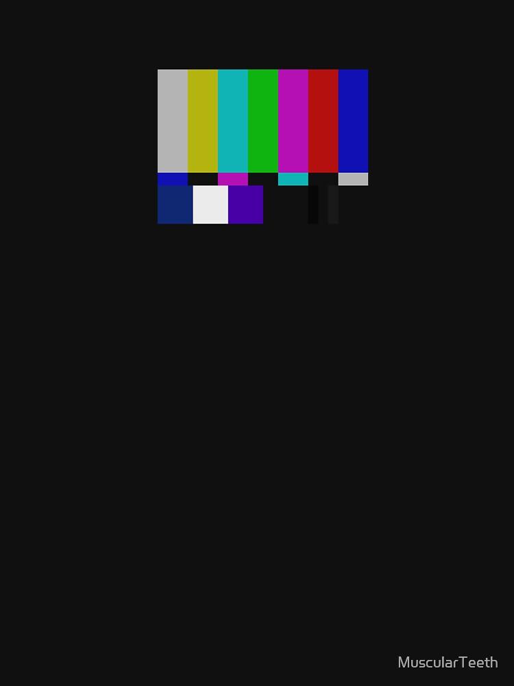 NTSC TV Test Pattern by MuscularTeeth