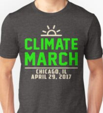 People's Climate March Chicago, IL 2017 Shirt Unisex T-Shirt