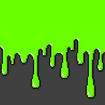Pixel Slime by GEEKsomniac